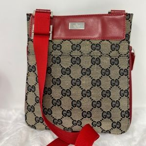Preowned Authentic GG Gucci Crossbody Bag